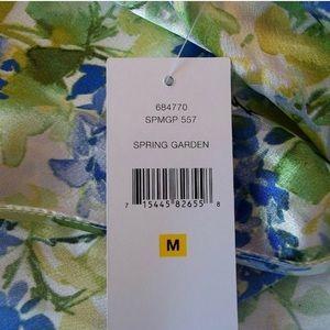 Oscar de la Renta Intimates & Sleepwear - Oscar de la Renta Short Floral Robe